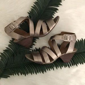 Clarks Artisan Strappy Heeled Sandal